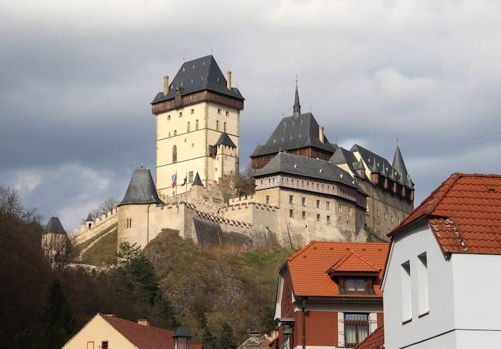 Beautiful apartments in the heart of Karlštejn