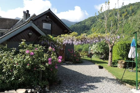 CHARMING MOUNTAIN GITE AT 900 M ALTITUDE - COULEDOUX - Casa