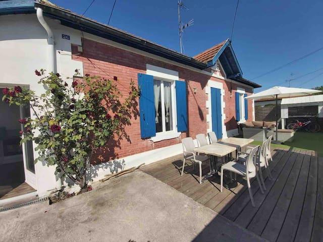 Maison Typique Bassin D Arcachon Houses For Rent In La Teste De