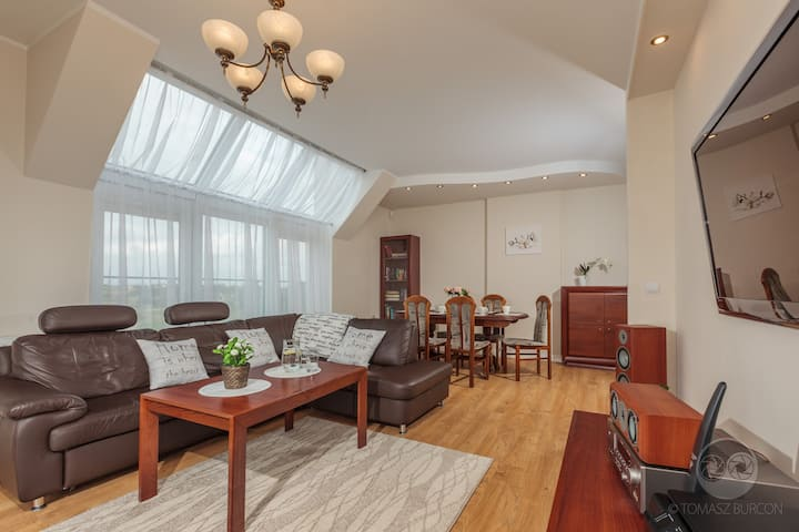 Luksusowy apartament Gdańsk-Rotmanka