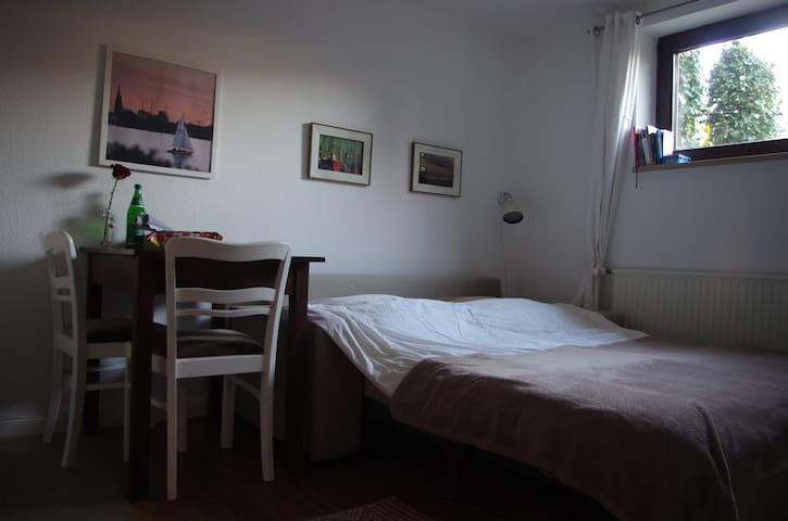 Cosy room + own bath + kitchenette - Hamburg
