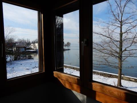 Bödeli-Haus direkt am Zürichsee