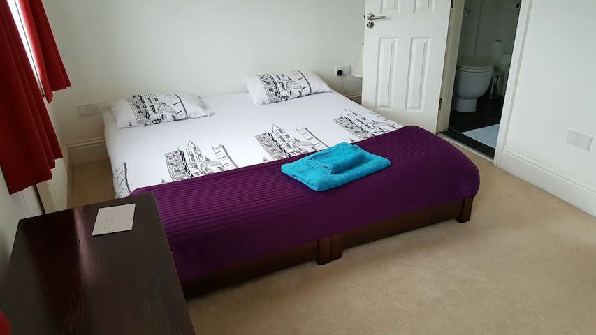 Large double (2 single together) Private WC&Shower