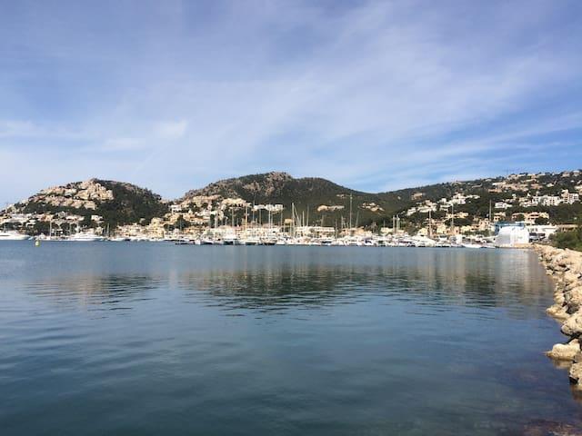 herrliche Aussicht, nur 50 m vom Wasser entfernt - Port d'Andratx - Appartement