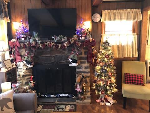 Black Bear Cozy Cabin, Lake View, Dog friendly.