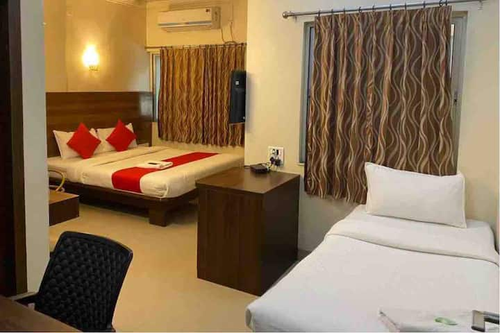 Private AC Room in the City at Royal Enclave Hotel