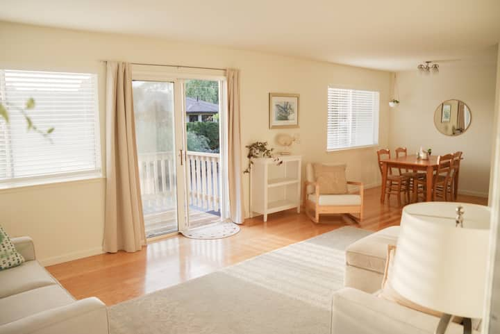 Sunny and peaceful Seabright home