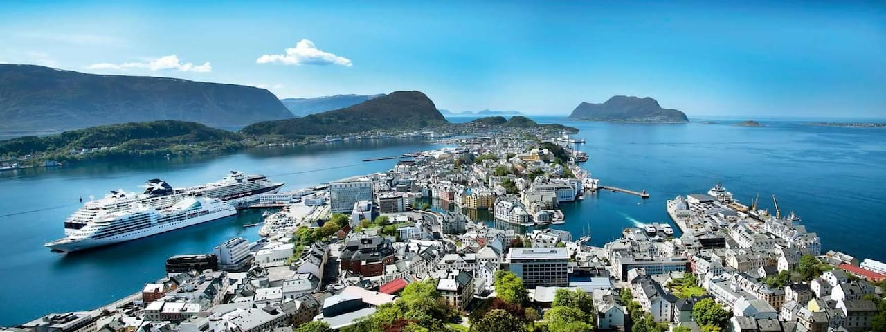 Nice apartment in heart of Ålesund - Alesund - Apartmen
