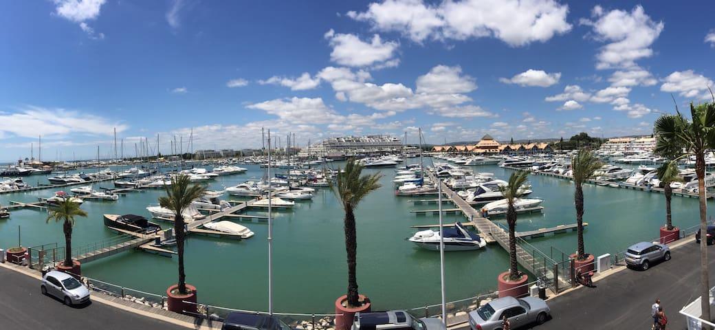 T1 Apartment great view to Vilamoura Marina - Quarteira - Huis