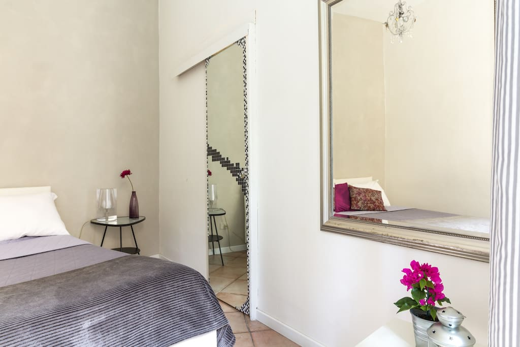 Double bedroom and ensuitebathroom