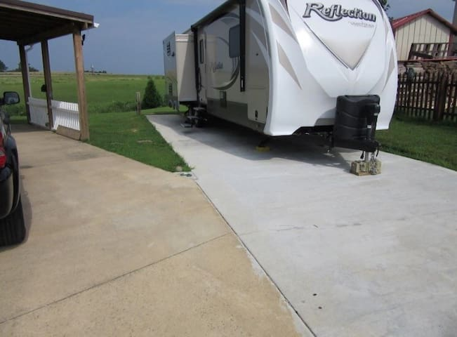 RV Parking with electricity