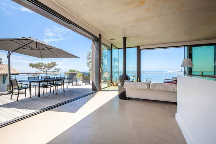 Villa prestigieuse 1ère ligne Pyla sur Mer