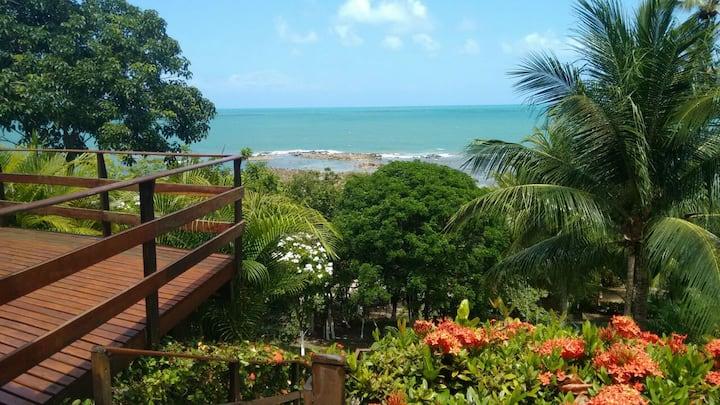 Casa à beira mar para relaxar em família