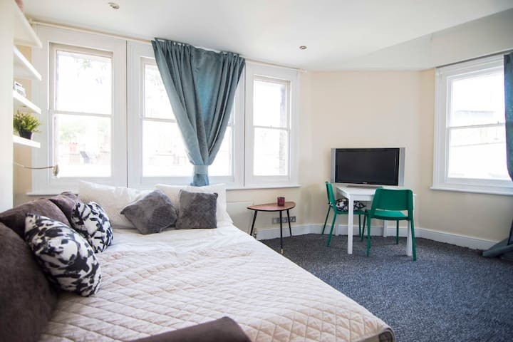 TOP NOTCH Studio Apartment for 4 near GREEN PARK