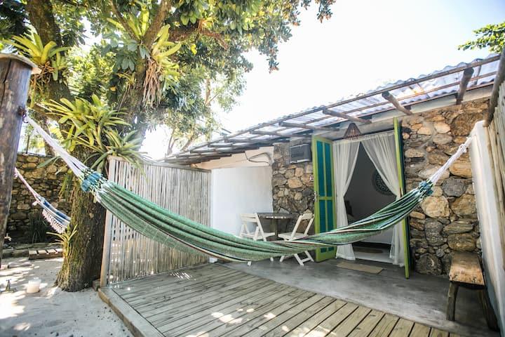 Cabana 2 - Frente ao Mar - Pet Friendly