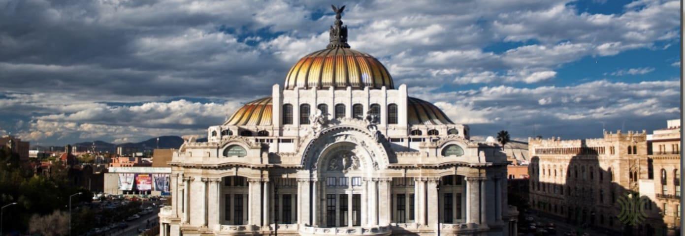 Loft totalmente equipado Centro Historico - Ciudad de México - Loft