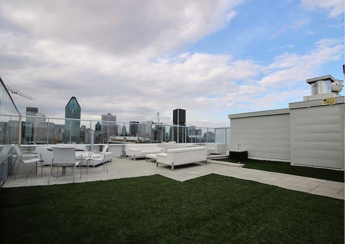Modern room loft downtown - Montréal - Apartament