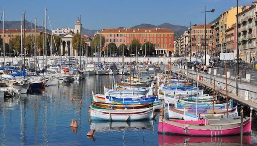 COTE D'AZUR/Nice Le port - 3 pièces - Nice - Apartment