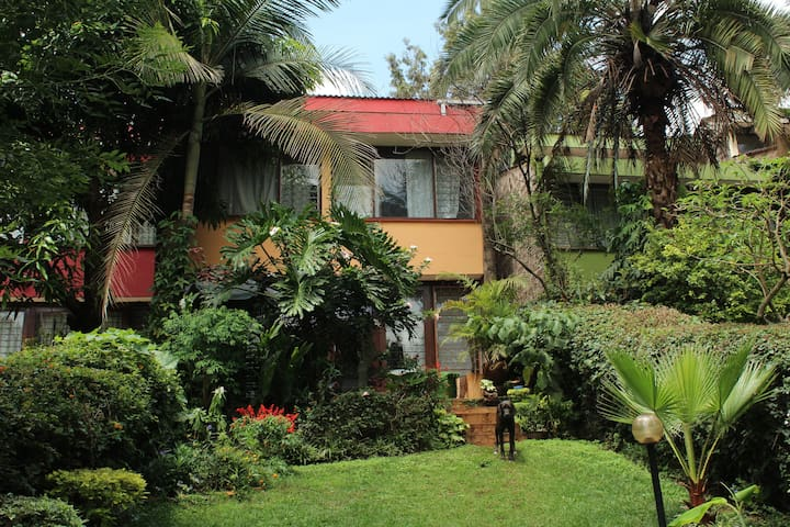 Gorgeous room in Kilimani with lovely backyard - Nairobi - Rumah bandar