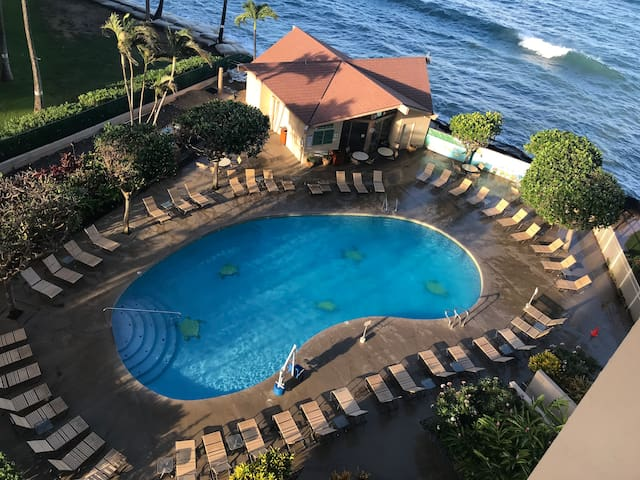One Bedroom Oceanfront West Maui Lahaina w/Parking
