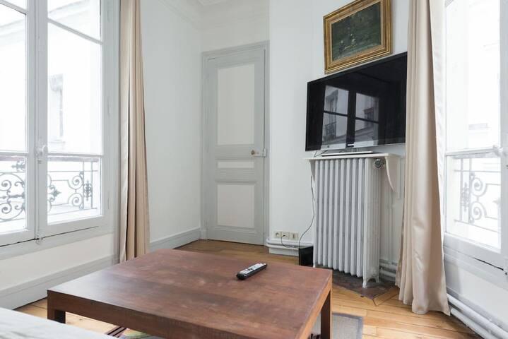 Beau loft ensoleillé de 41m² prés de Montmartre