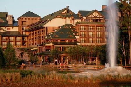 Wilderness Lodge Villas. Disney - lake Buena vista