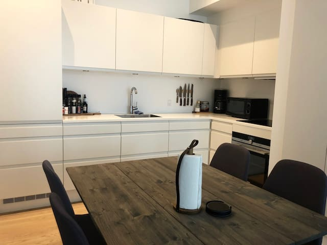 Brand new apartment - Aarhus Ø - close to center