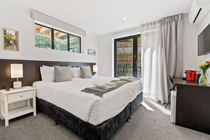 Serenity Heights | Bedroom 27B | Nespresso Machine | Smart TV