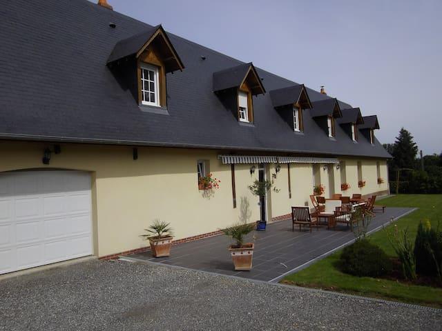 Grande maison au coeur de la Normandie - Bacqueville-en-Caux