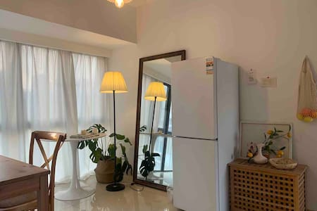 [mikiko's house]chic云朵room/韩风/投影仪/地铁旁/近高铁站直达HK