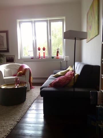 Wohlfühl-Zimmer, zentral, tippitoppi - Göttingen - Apartament