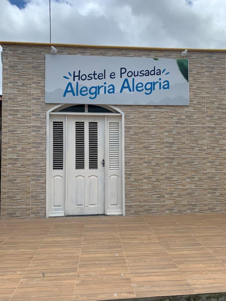 """Hostel e pousada """"ALEGRIA ALEGRIA"""""""