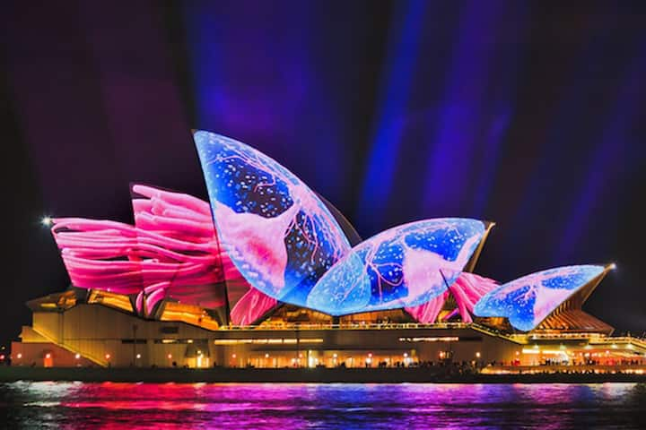 The Opera House is a Vivid favourite