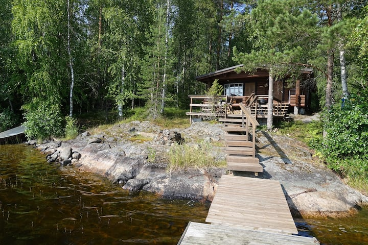 Peace and harmony at Pikkumökki-cottage