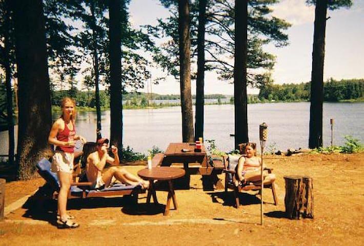 Ephraim Cabin on Lake Winnisquam