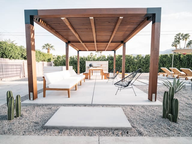 Palm Springs is all about outdoor living. Enjoy it anyway you want.