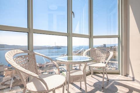 Sea view apartments Krygina 105