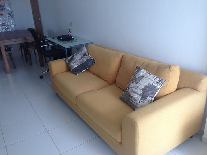 Apartment to work as well for enjoyment