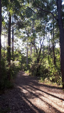 Walking and cycling trails at your doorstep