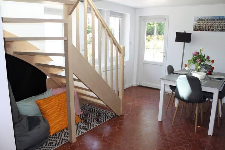 Gîtes du Frêne - Charlotte (2 Ch et un canapé-lit)