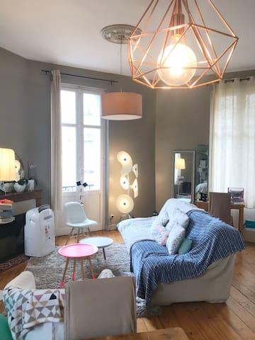 Superbe appartement Haussmannien coeur de ville