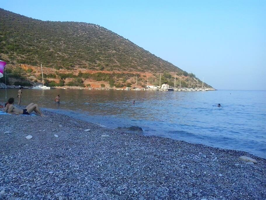 Beach from Kyparissi