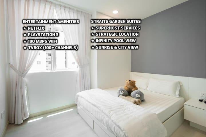 ★ Couples Getaway IX★ Cozy Suite Sleeps 1~4 | 城市套房