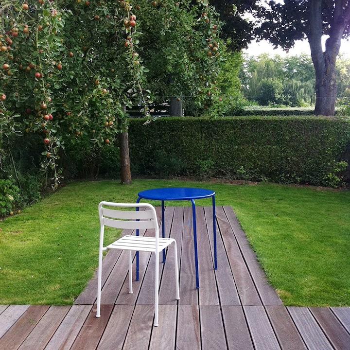 Chambre Jardin au calme - Stade Pierre Mauroy