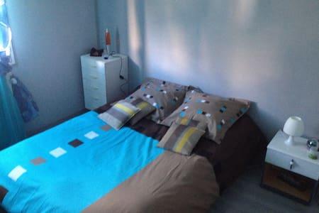 chambre dans maison calme avec jardin