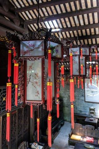 老街区800平方百年私塾空间Traditional Lingnan House清凉桥之[兆年家塾]