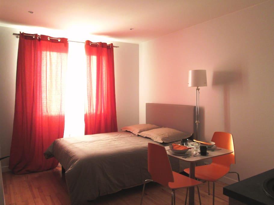 studio meubl toulouse lalande condomini in affitto a tolosa midi pirenei francia. Black Bedroom Furniture Sets. Home Design Ideas