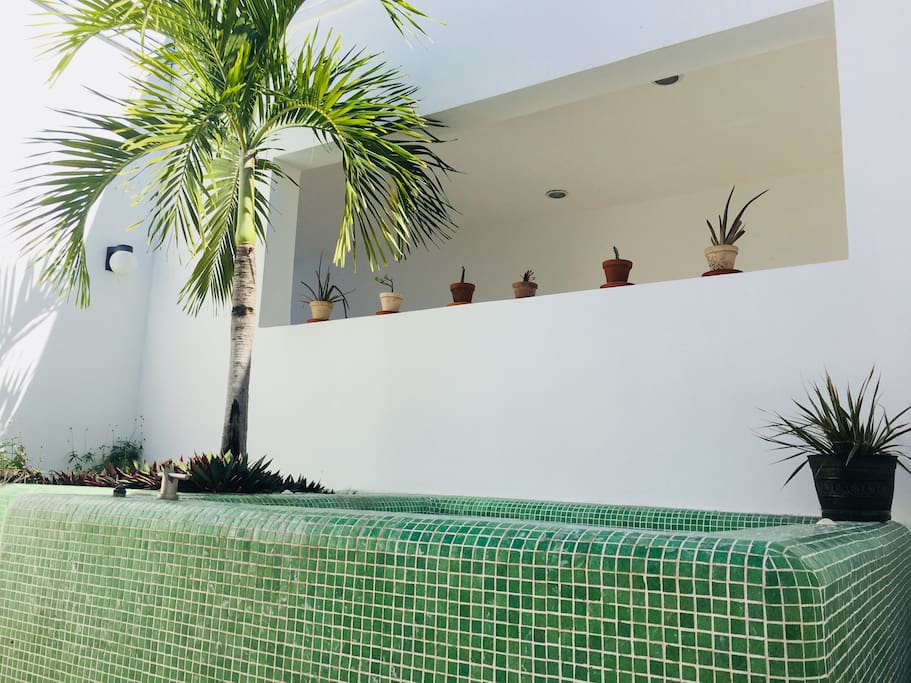 Private roof top plunge pool