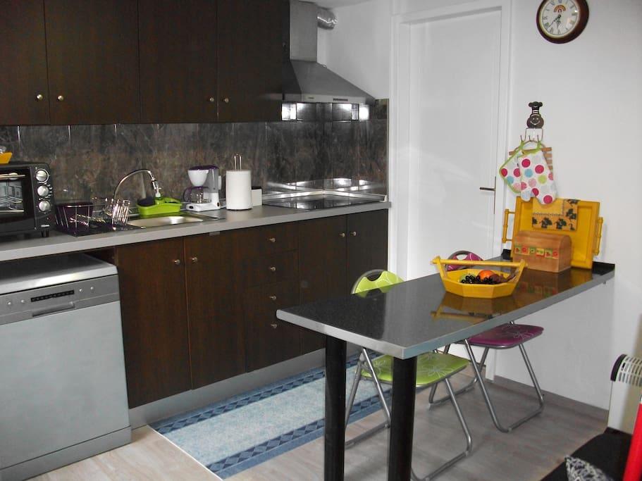 Cozinha kitchenette