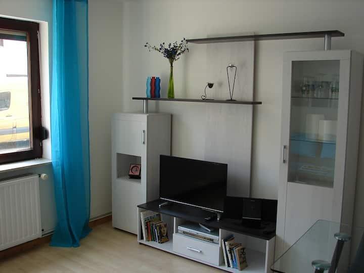Stadtnahe 2 Zi-Wohnung NACHT I
